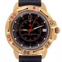 Vostok Komandirskie Classic (black)